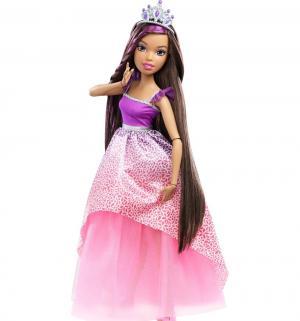 Кукла  Дримтопия Брюнетка в розово-бирюзовом платье 43 см Barbie