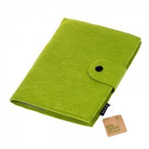 Бизнес-блокнот Felt зеленый, на спирали А5 (120 листов) Lejoys
