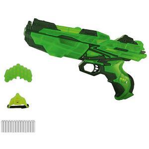 Мегабластер Abtoys с патронами и аксессуарами, зеленый
