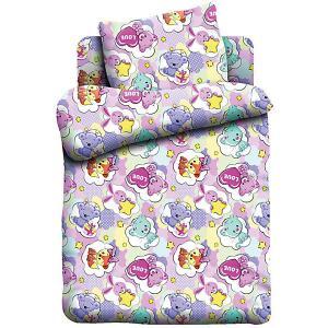 Комплект постельного белья детск. бязь Кошки-Мышки (40х60) рис. 8866-1 Зверята. Цвет: разноцветный