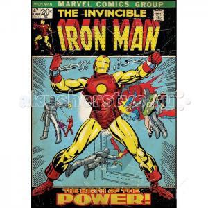 Наклейки для декора Комиксы Железный человек RoomMates