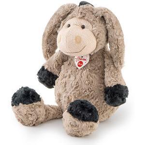 Мягкая игрушка  Ослик с трикотажной вставкой, 36 см Trudi. Цвет: серый