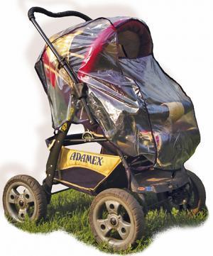 Дождевик Sport Baby на прогулочную коляску, цвет: прозрачный Спортбэби
