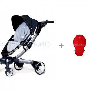 Прогулочная коляска  Origami с вкладышем-матрасиком 4moms
