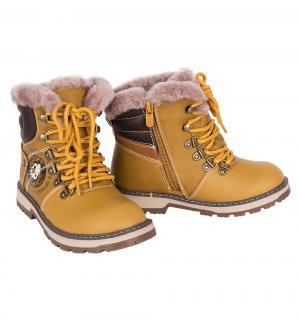 Ботинки , цвет: желтый Сказка