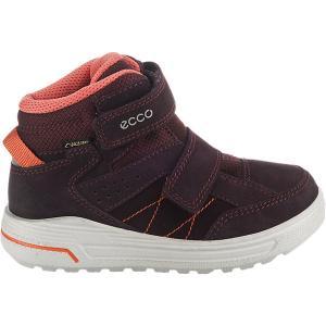 Утеплённые ботинки ECCO. Цвет: лиловый