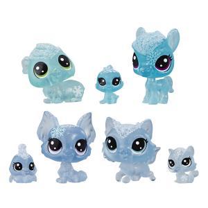 Игровой набор  Холодное царство 7 петов голубой Littlest Pet Shop