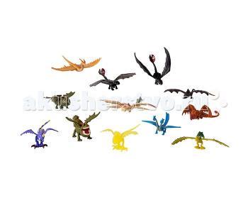 Набор 15 маленьких драконов Dragons