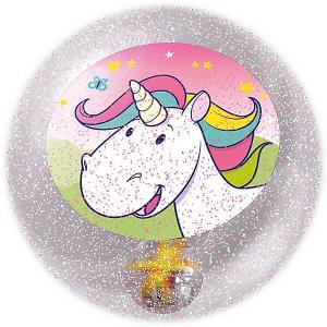 Светящийся мяч  Единорог John. Цвет: розовый