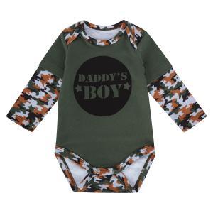 Боди  Daddys boy, цвет: хаки Мелонс