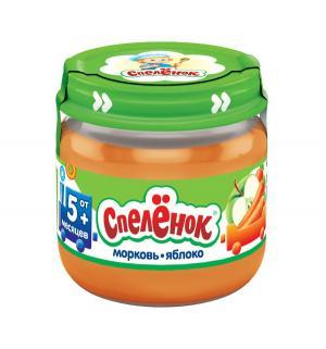 Пюре  яблоко-морковь с 5 месяцев, 80 г Спеленок