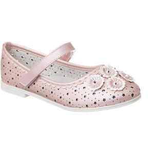 Туфли  для девочки Vitacci. Цвет: розовый