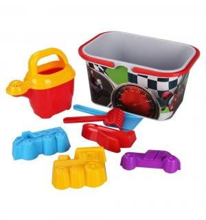 Набор для игры с песком  Чудо-детки 8 предметов, мальчиков Альтернатива