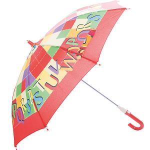 Зонт-трость  Буквы со светодиодами, красный Zest. Цвет: красный