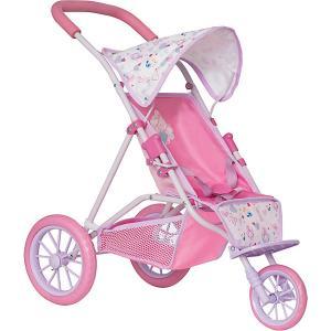 Коляска для кукол Baby Born, розовая Zapf Creation. Цвет: разноцветный