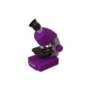 Микроскоп  Junior 40x-640x, фиолетовый Bresser