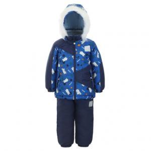Комплект куртка/брюки  Niisku, цвет: синий Kuutti