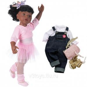Кукла Ханна Балерина афро-американка 50 см Gotz