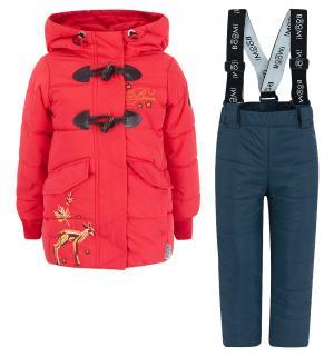 Комплект куртка/брюки , цвет: красный Boom