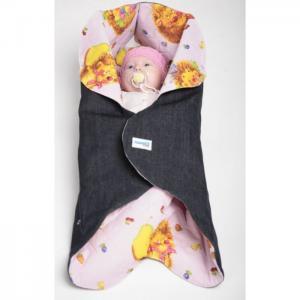 Конверт-трансформер Denim Style для новорожденного Ramili
