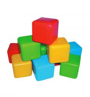 Кубики  цветные, 6 см Плэйдорадо
