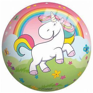 Мяч  Единорог 23 см John. Цвет: розовый