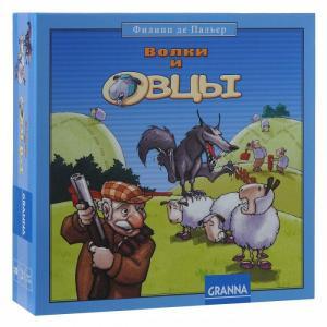Настольная игра Волки и овцы новое издание Granna