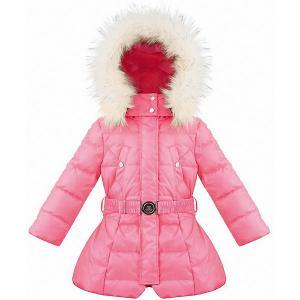 Утепленная куртка Poivre Blanc. Цвет: розовый