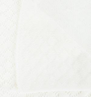 Плед Корона, цвет: белый Baby Street