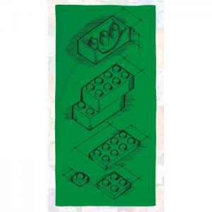 Полотенце Iconic Scribble 70х140 см Lego