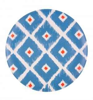 Тарелка обеденная  Мексикан ромбус, диаметр: 25 см Ecowoo