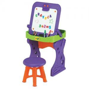 Парта-мольберт Grown Up со стульчиком Grow'n. Цвет: фиолетовый