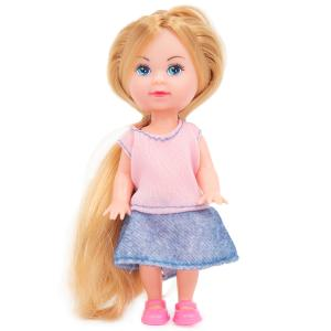 Кукла  «Машенька» в модной одежде 13x6x3 Карапуз