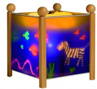 Светильник-ночник в форме куба Джунгли Trousselier