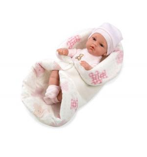 Кукла-пупс  Elegance в конверте розовый Arias