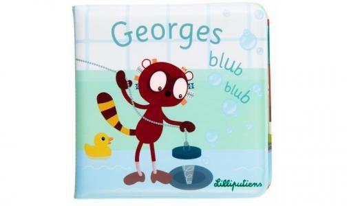 Книжка для ванны Лемур Джордж Lilliputiens