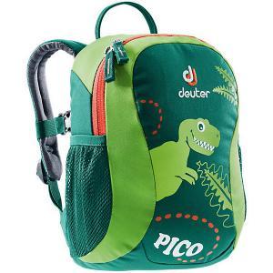 Рюкзак  Pico Динозаврик, зеленый Deuter. Цвет: зеленый