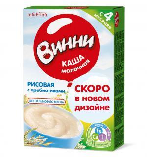 Каша  молочная Рисовая с пребиотиками 4 месяцев 200 г 1 шт Винни