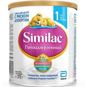 Молочная смесь  Гипоаллергенный 1, с 0 мес, 375 г Similac