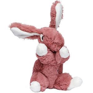 Мягкая игрушка Molli Кролик, 16 см Molly. Цвет: бордовый