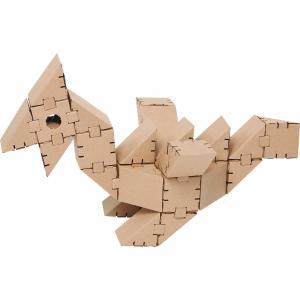 Картонный конструктор Динозавр Птеро, Yohocube