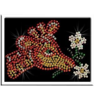 Мозаика из пайеток  Жираф Волшебная мастерская