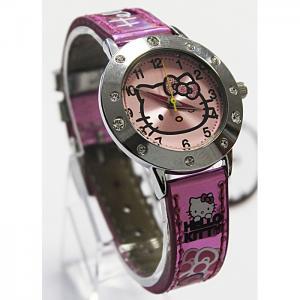 Часы  наручные аналоговые 41236 Hello Kitty