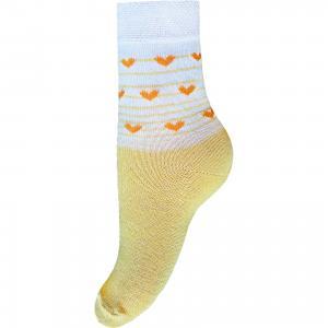 Носки для девочки Брестские. Цвет: желтый
