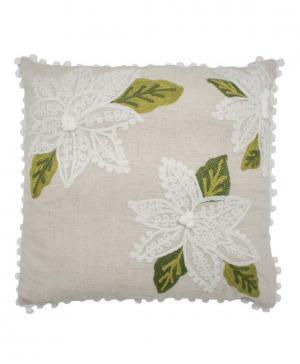 Подушка декоративная Цветы Kupu-Kupu