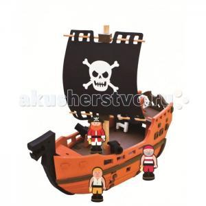 Конструктор  Пиратский корабль 41 деталь Bebox