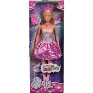 Кукла  Steffi Love Штеффи в розовом платье с единорогом, 29 см Simba