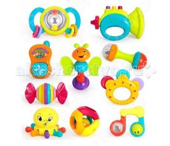 Погремушка  Набор погремушек Huile Toys