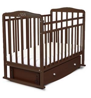 Кровать  Luciano, цвет: венге Sweet Baby