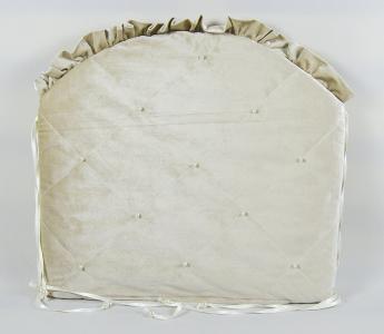 Комплект постельного белья  Velour 3718, цвет: бежевый 8 предметов бант 26 х 24 28 см Tizo